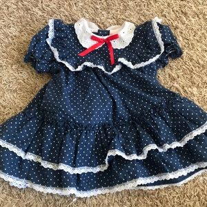 Martha's miniatures dress with bloomers